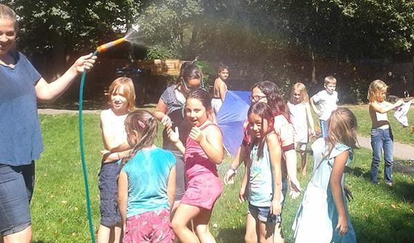 Sommer im Schulkinderhaus